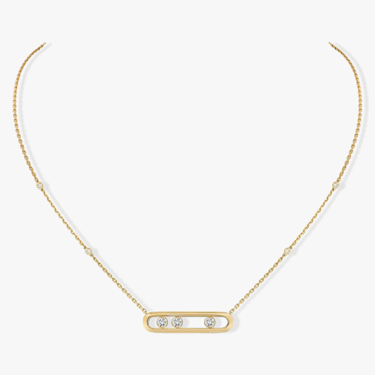 Collier Messika Move Classique Or Jaune 03997-YG