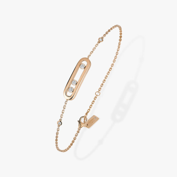Bracelet Messika Baby Move Or Rose 04324-PG
