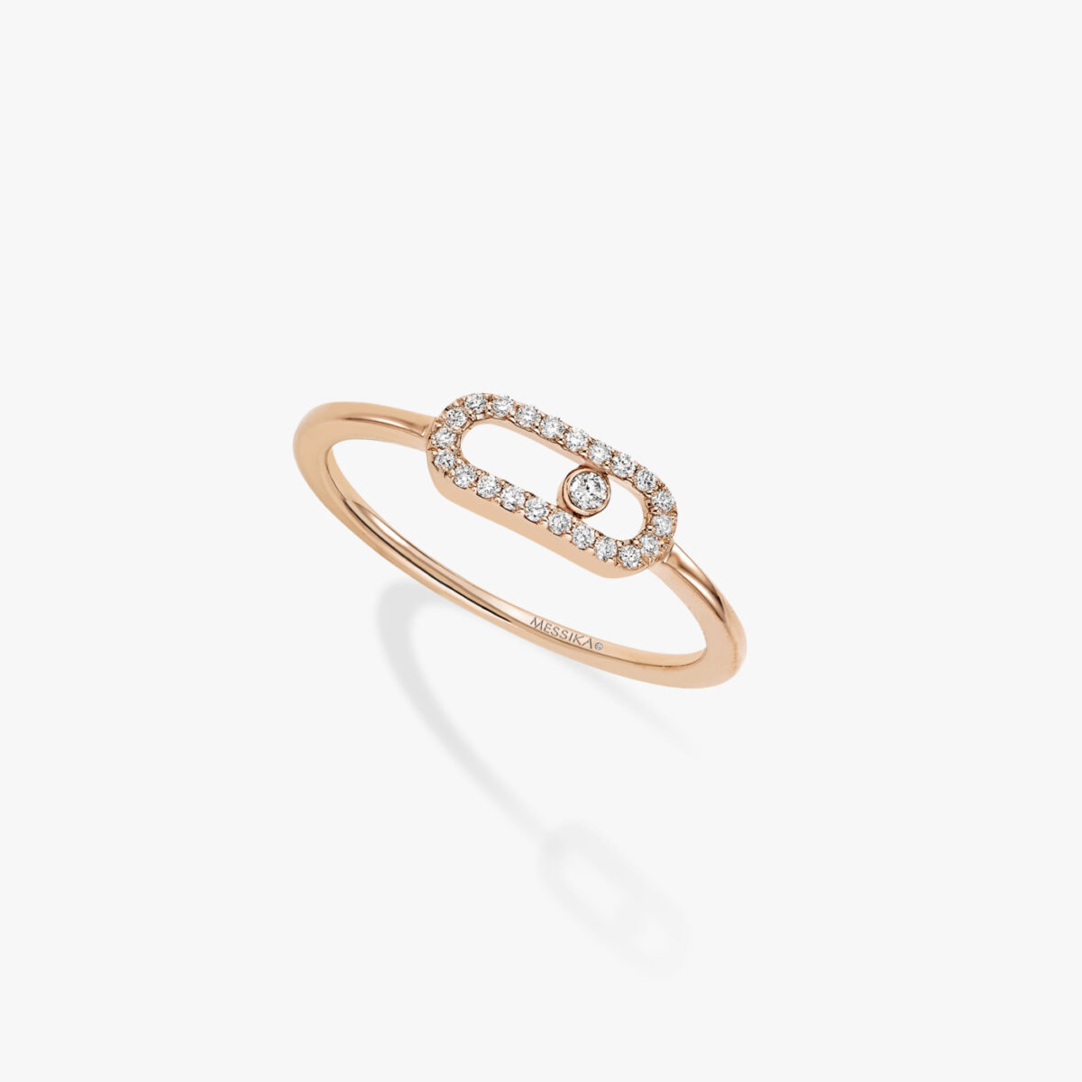 Bague Messika Move Uno Or Rose 04705-PG