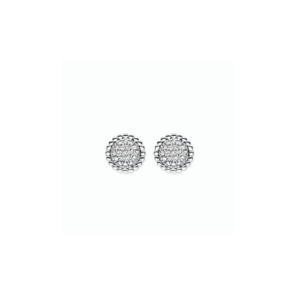 Boucle D'oreille One More Cimini Or Blanc 51553/A