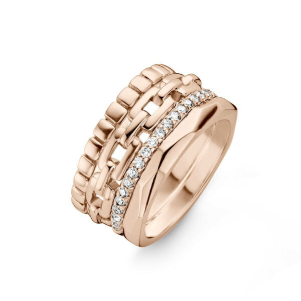 Bague One More Ischia Or Rose 055904A