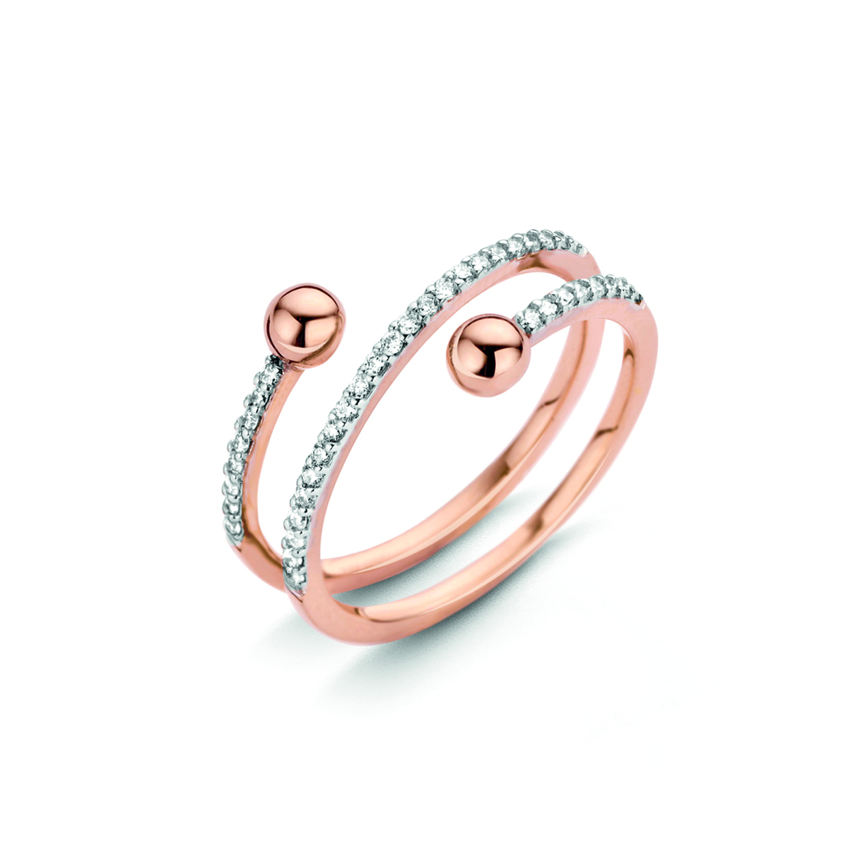 Bague One More Vulture Or Rose 057205A