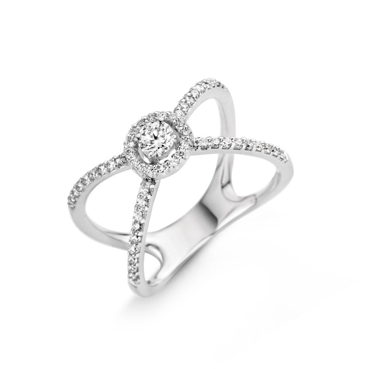 Bague One More Salina Or Blanc 057207A