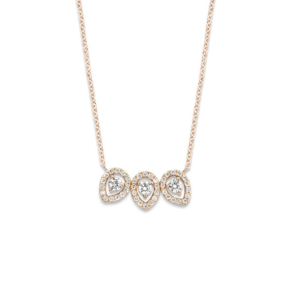 Collier One More Salina Or Rose 057473A