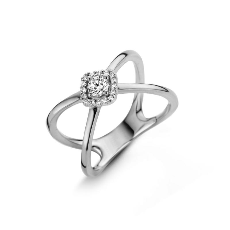 Bague One More Salina Or Blanc 057976A
