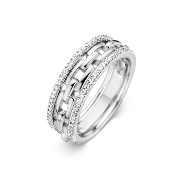 Bague One More Ischia Or Blanc 059203A