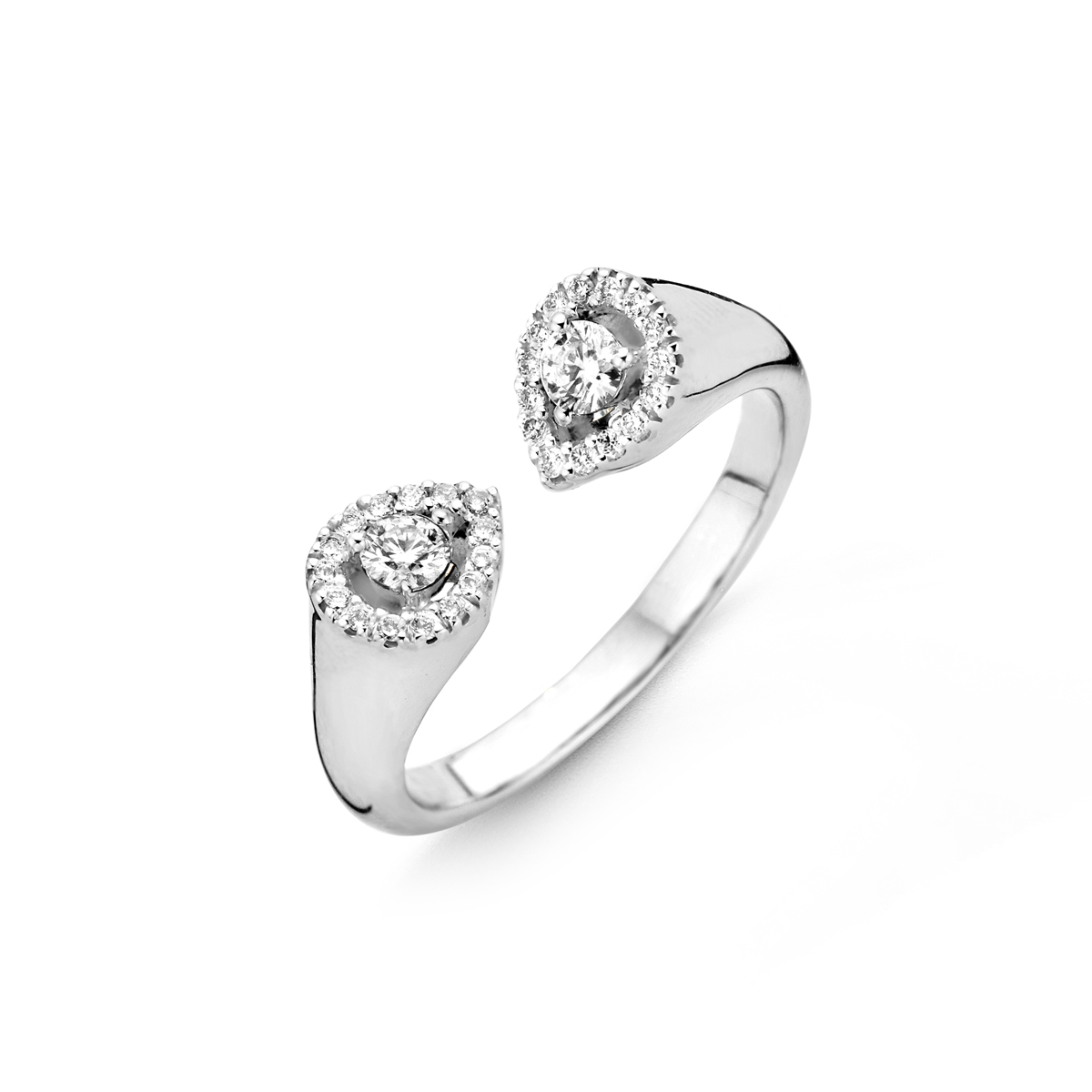 Bague One More Salina Or Blanc 059414A