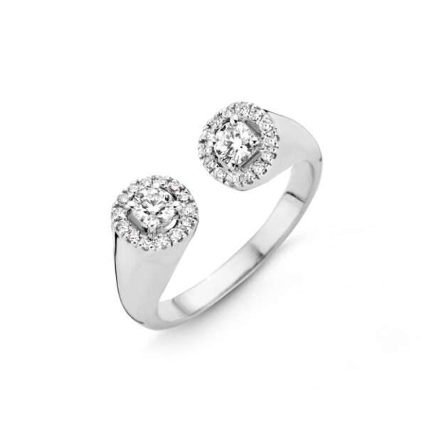 Bague One More Salina Or Blanc 059487A