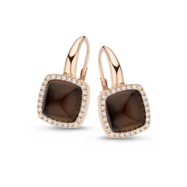 Boucles d'oreilles One More Pantelleria Or Rose 062374VN