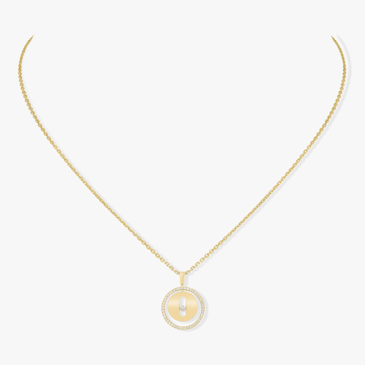 Collier Messika Lucky Move Or rose 07396-PG