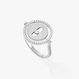 Bague Messika Lucky Move Or blanc 07470-WG