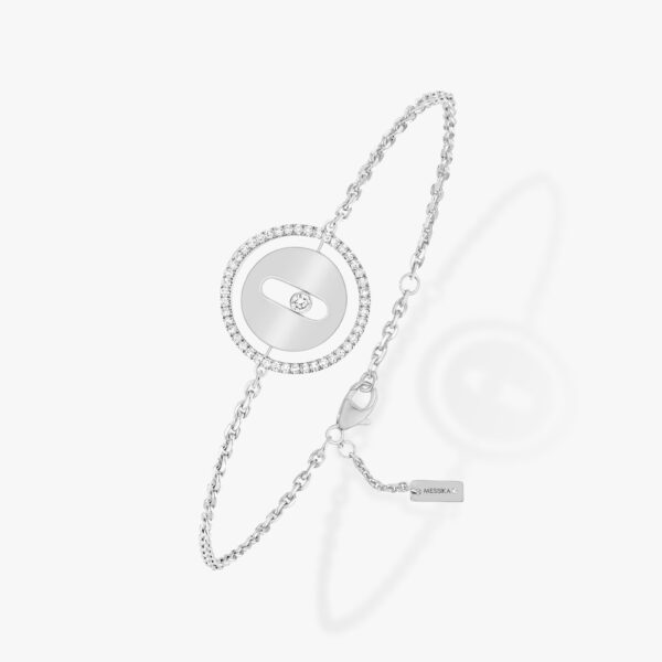 Bracelet Messika Lucky Move Or Blanc 07540-WG