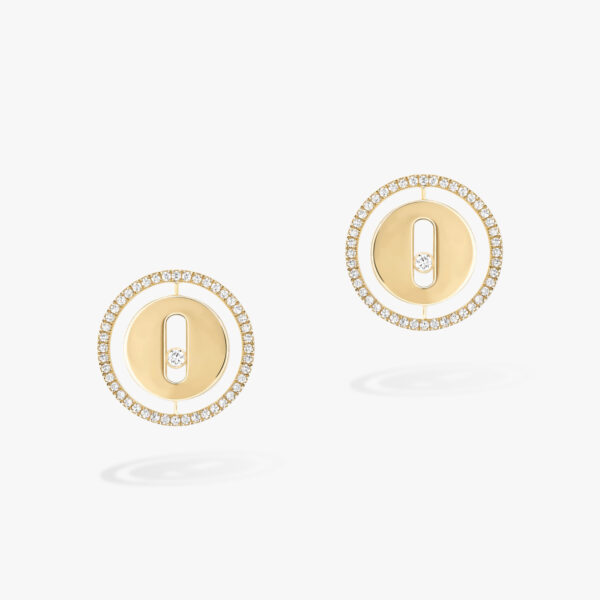 Boucles d'oreilles Messika Lucky Move Or Jaune 11571-YG