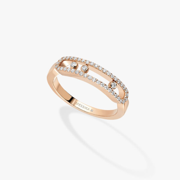 Bague Messika Baby Move pavé Or Rose 04683-PG