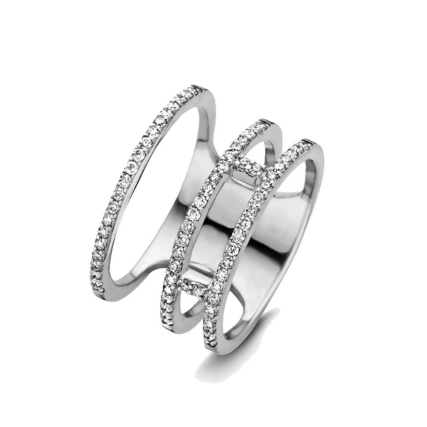Bague One More Ischia Or Blanc 053919A