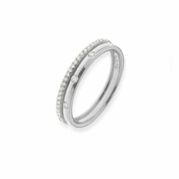 Bague One More Ischia basics Or Blanc 058238A