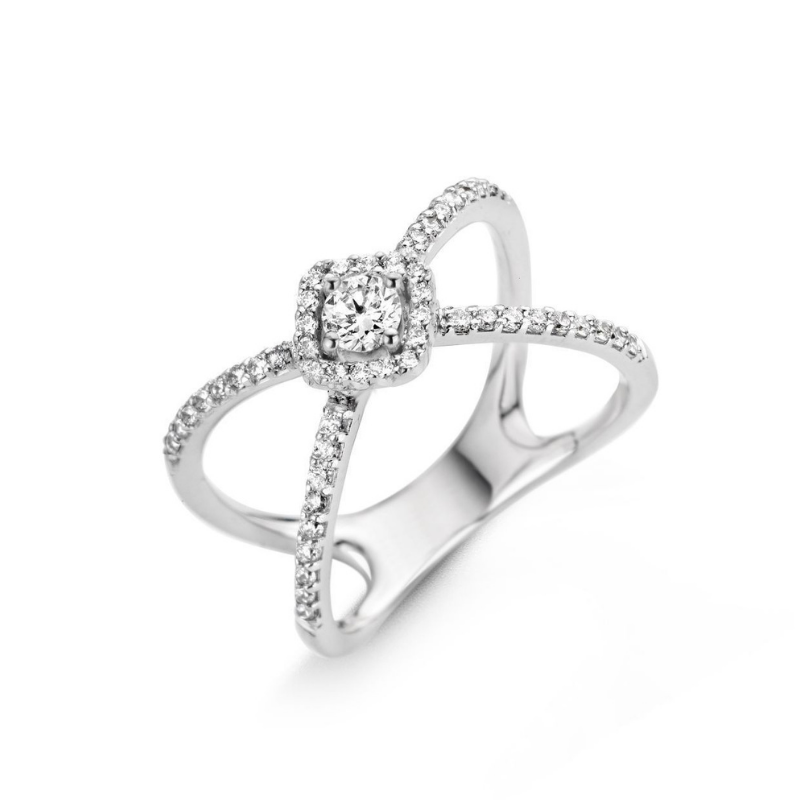 Bague One More Salina Or Blanc 057543A