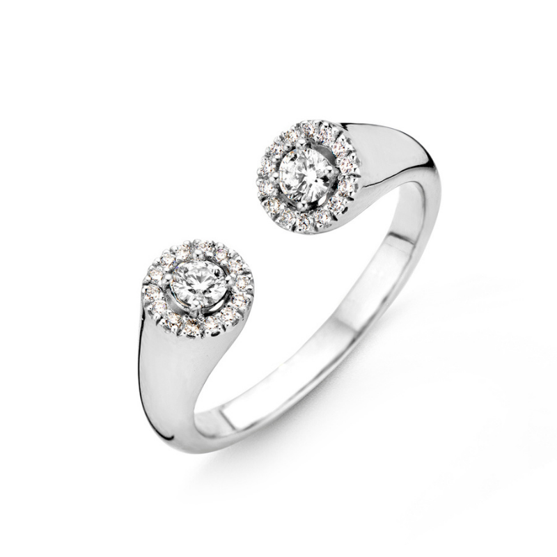 Bague One More Salina Or Blanc 059410A