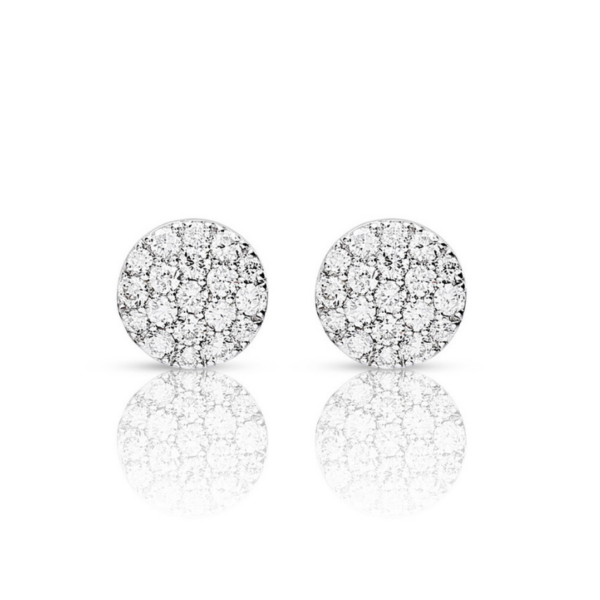 Boucles d'oreilles One More Eolo Or Blanc 93FK08A