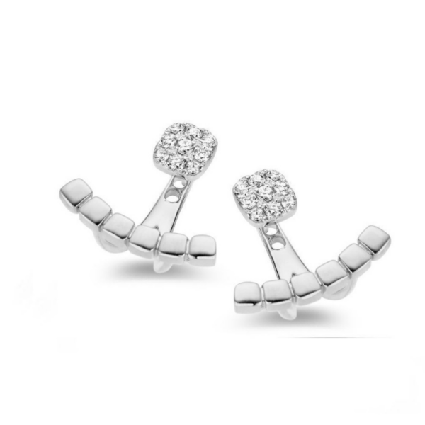 Boucles d'oreilles One More Ischia Or Blanc 057558A