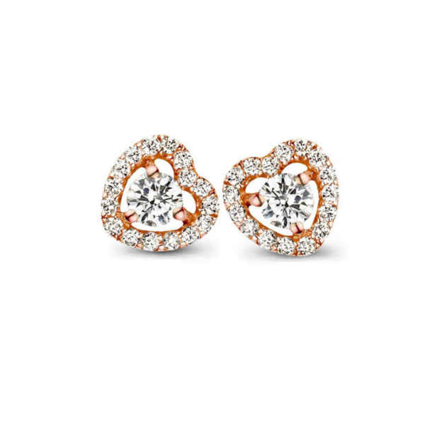 Boucles d'oreilles One More Salina Or Rose 051385A