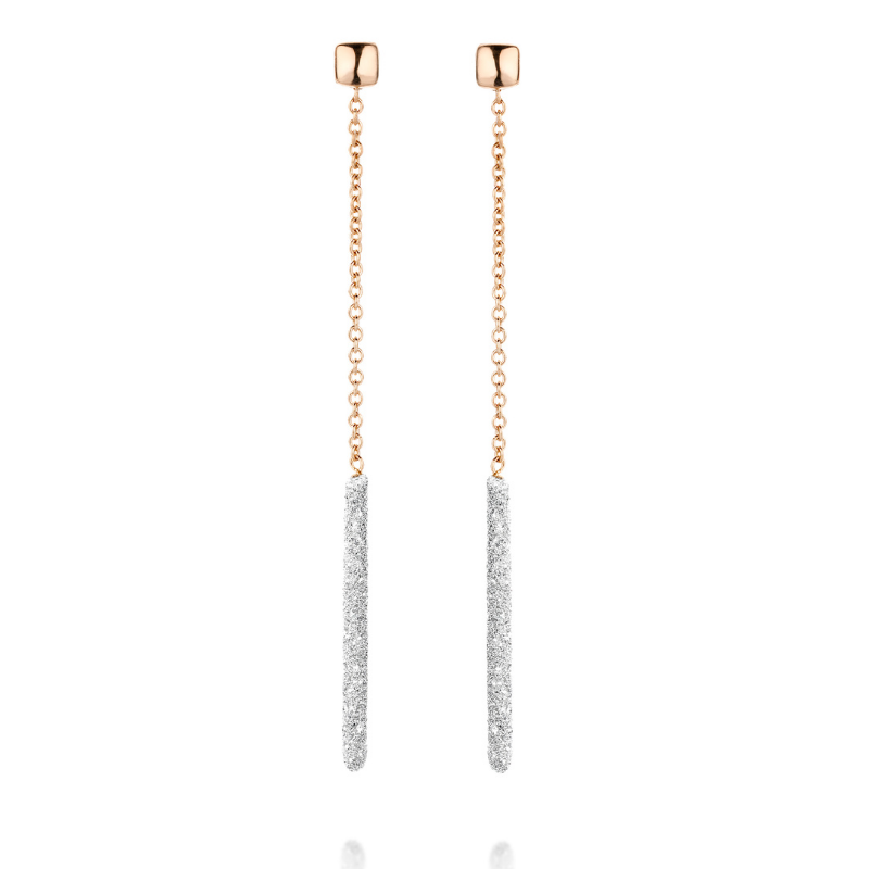 Boucles d'oreilles Pesavento Cocktail Or 18k Or Rose YBSCO013