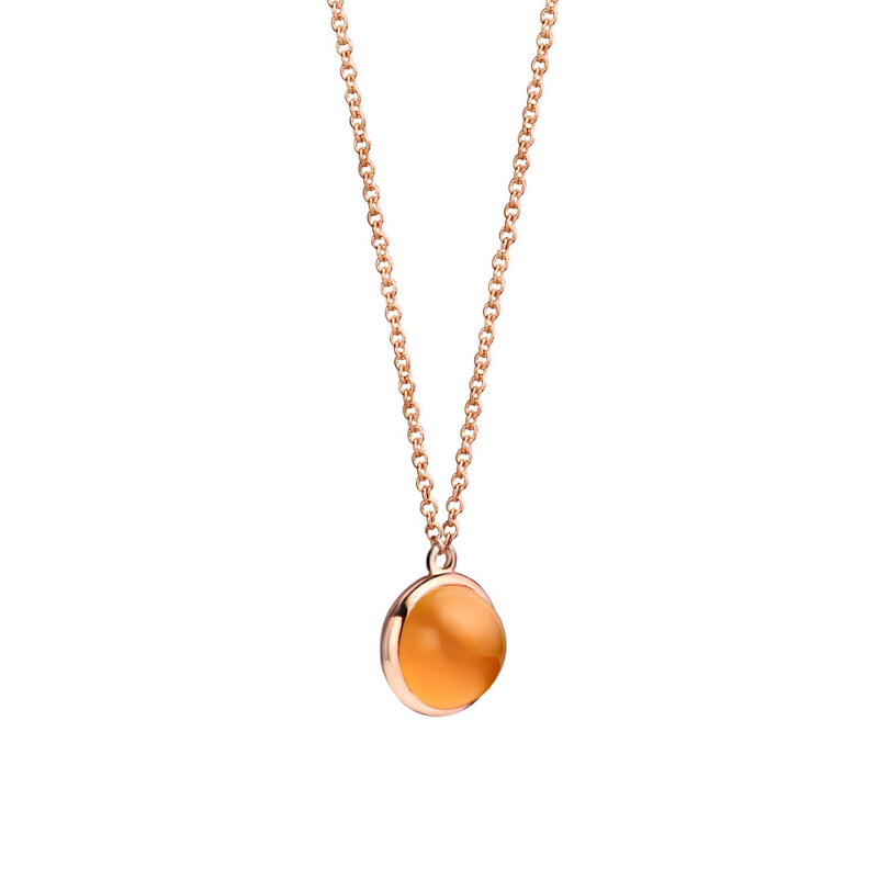 Collier One More Pantelleria Or Rose 52333H