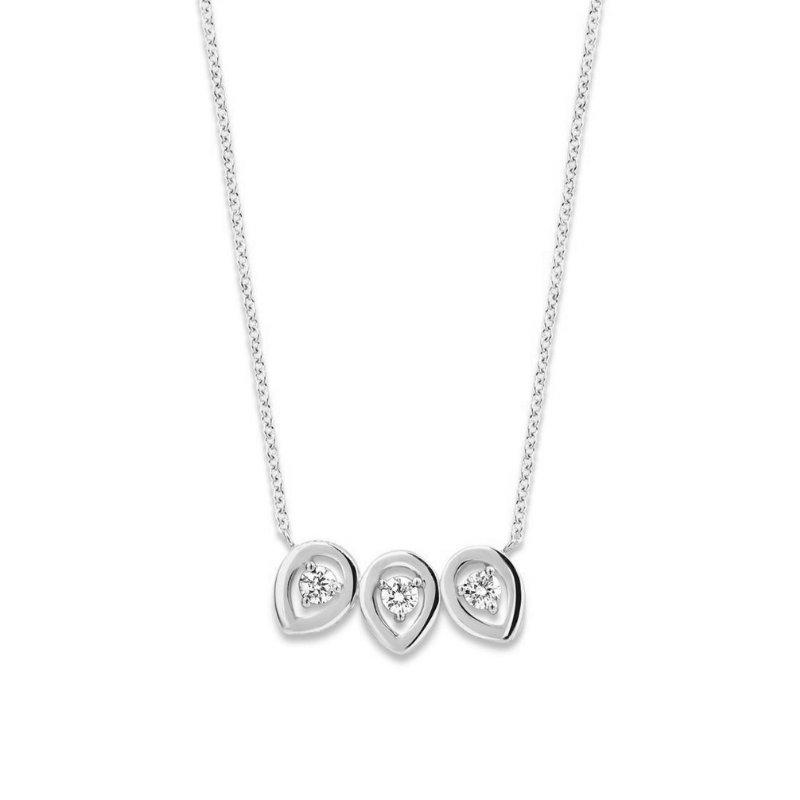 Collier One More Salina Or Blanc 057634A