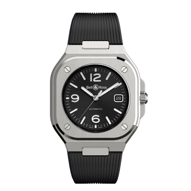 Montre Bell and Ross BR 05 Black Steel BR05A-BL-ST_SRB