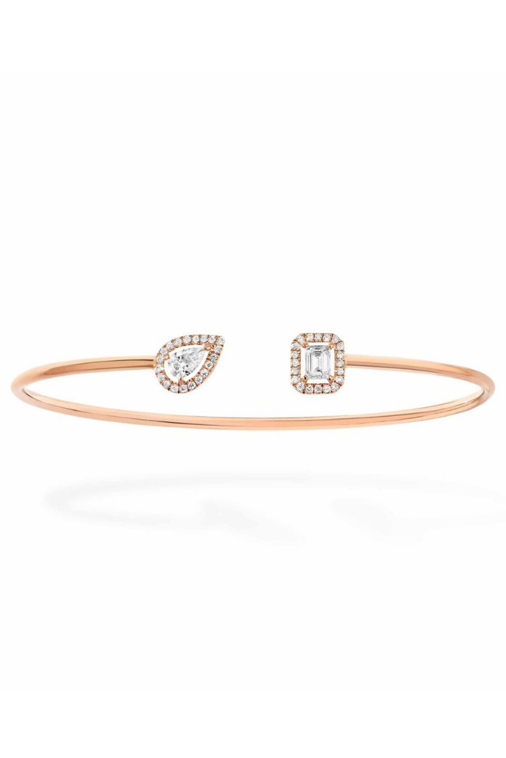 Bangle Messika My Twin Or rose 07222-PG