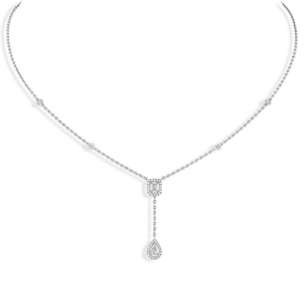 Collier Messika My Twin Or Blanc 06693-WG