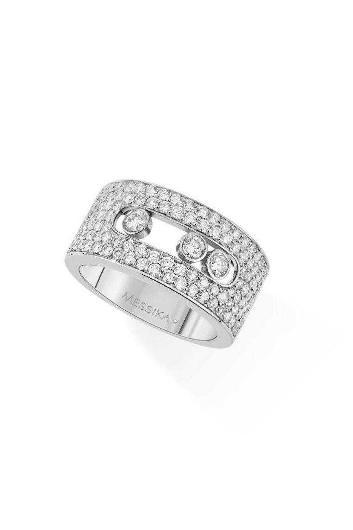 Bague Messika Move Joaillerie Or Blanc 04733-WG