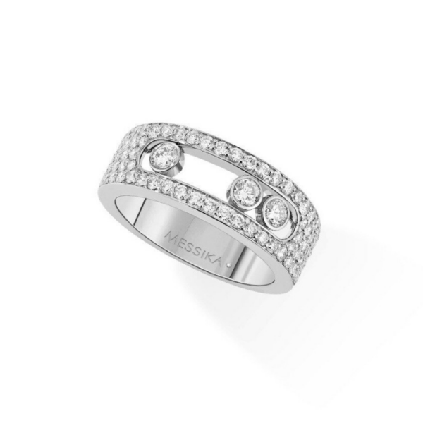 Bague Messika Move Joaillerie Or Blanc 04703-WG