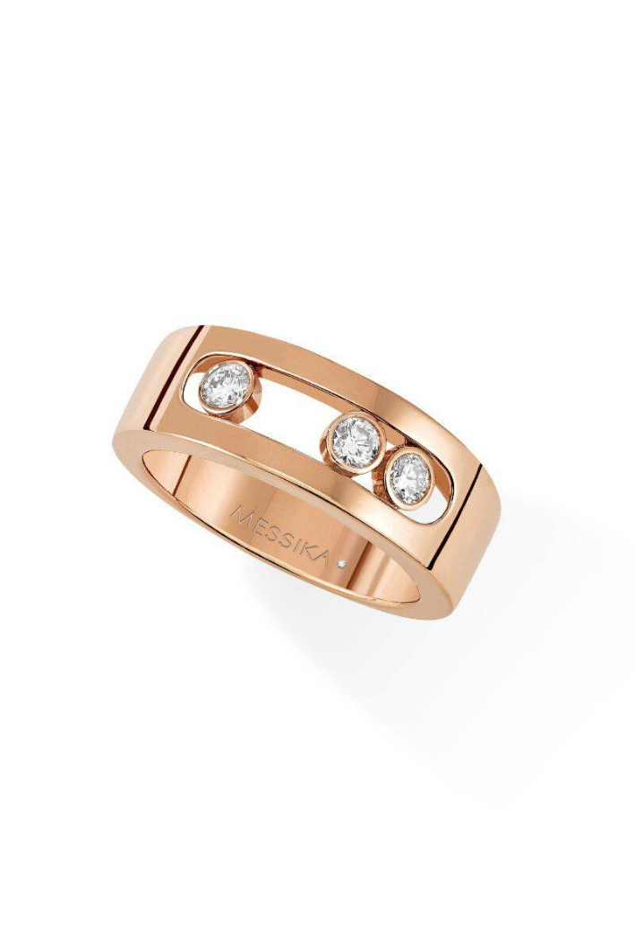 Bague Messika Move Joaillerie Or Rose 04704-PG
