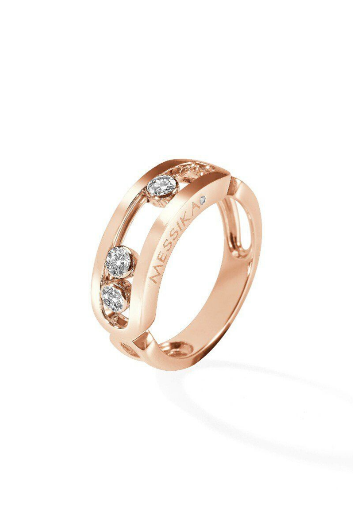Bague Messika Move Classique Or rose 03998-PG
