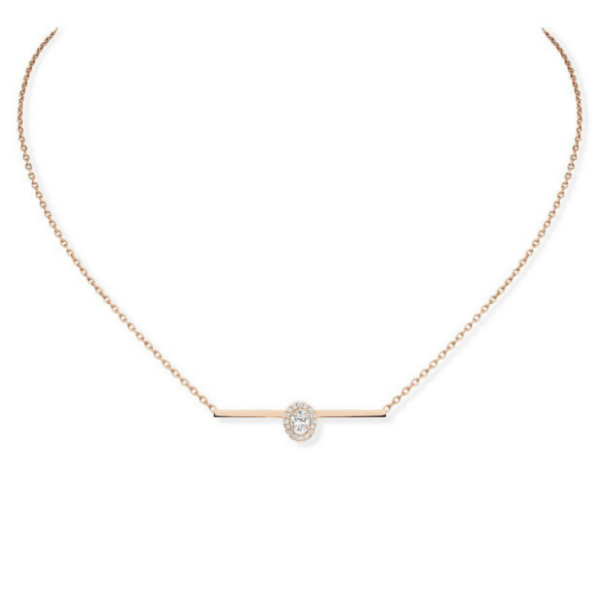 Collier Messika Glam'Azone Or rose 06139-PG