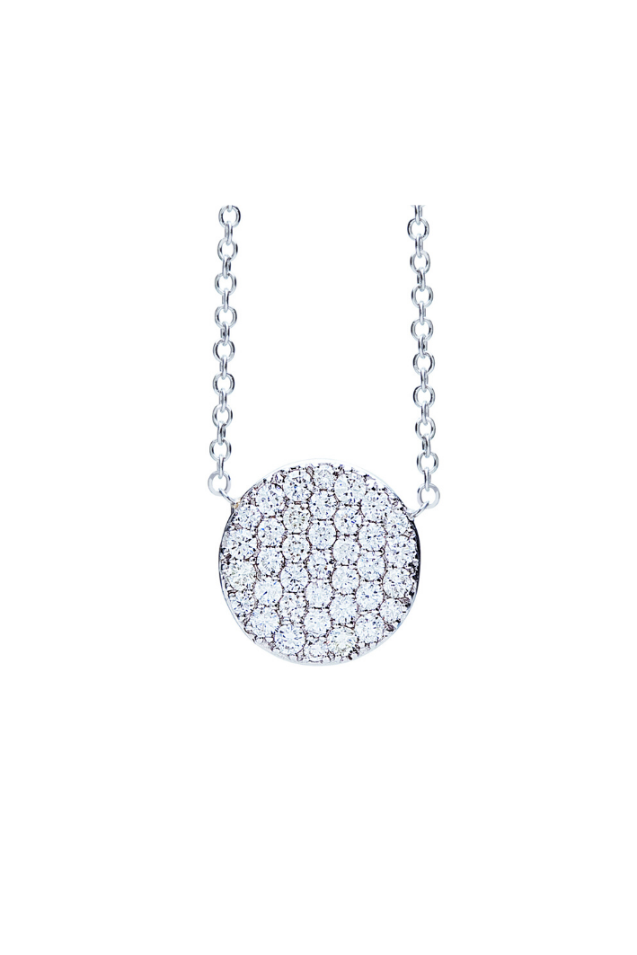 Collier One More Eolo Or Blanc 929412