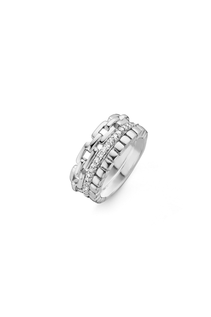 Bague One More Ischia Or Blanc 55885/A