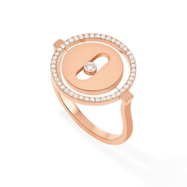 Bague Messika Lucky Move Or Rose 07470-PG