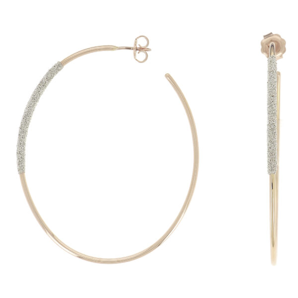 Boucles d'oreilles Pesavento Cocktail 18k Or Rose YBSCO011