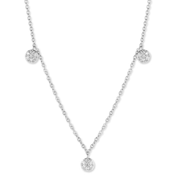 Collier One More Eolo Or Blanc 059969A