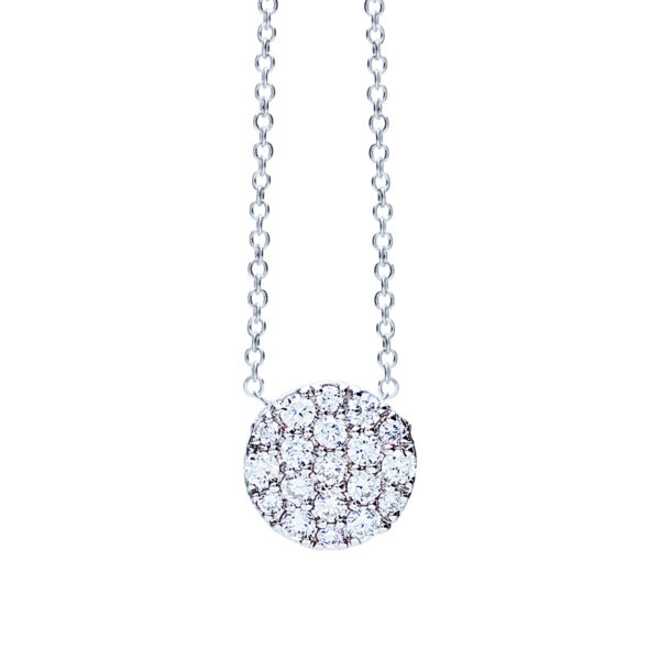 Collier One More Eolo Or Blanc 929408A