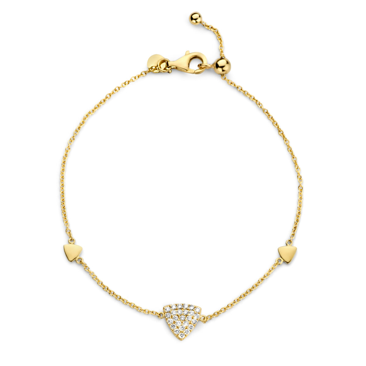 Bracelet One More Eolo Or Jaune 947008A